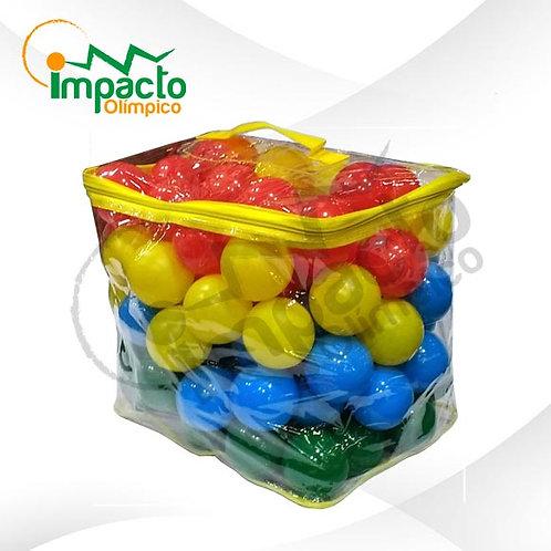 Set 100 pelotas plásticas UK