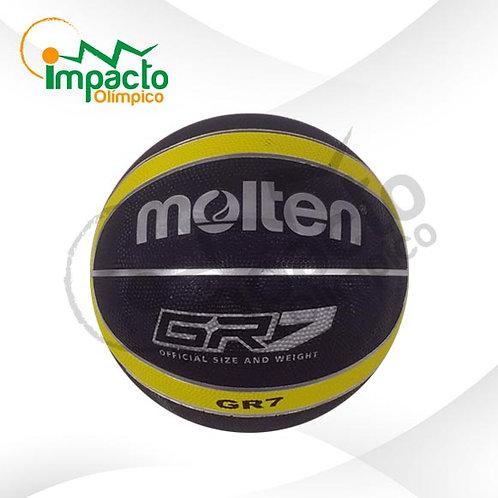 Balón Basquet Molten GR7 Diseño negro