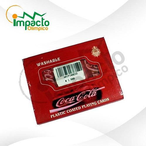 Set Naipes Inglés Coca Cola