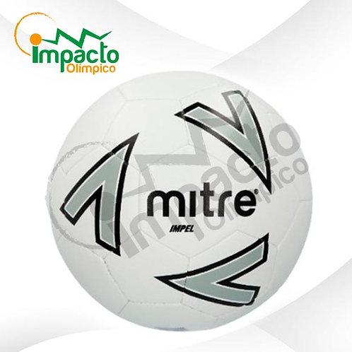 Balón fútbol Mitre New Impel Nº5 (Blanco-gris)