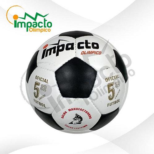 Balón Fútbol cuero Impacto Nº5