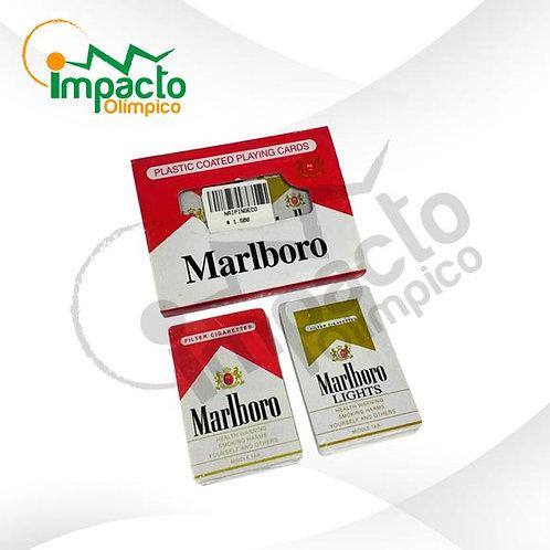 Set Naipes Inglés Marlboro