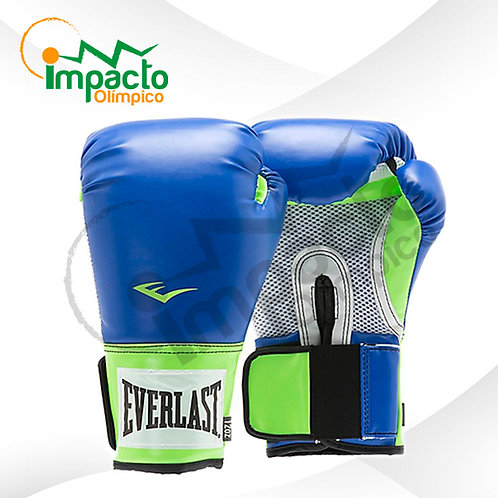Guante Everlast Pro Style Training 12oz  Verde