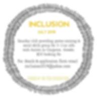 Incusion flyer