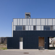 deep blue house