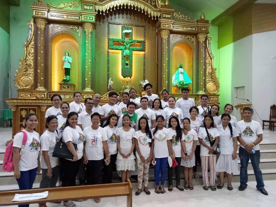 PREX family with Fr. Reynaldo Olan