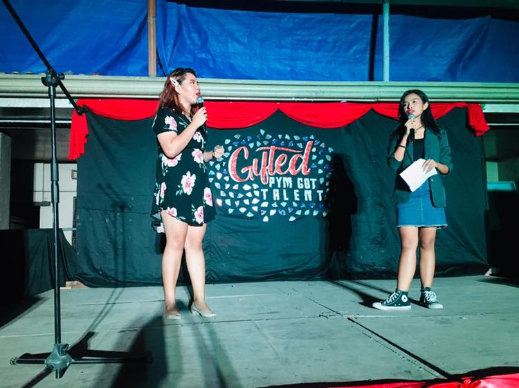 Emcees Lalaine and Ericka