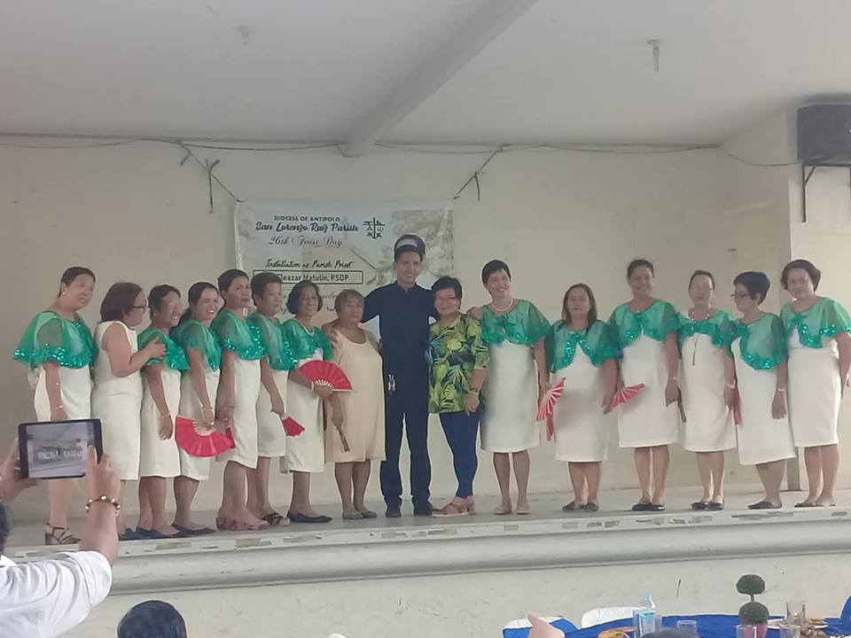 Fr. Eleazar with the ppc officers