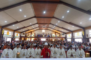 'Happy Fiesta SLR Parish'
