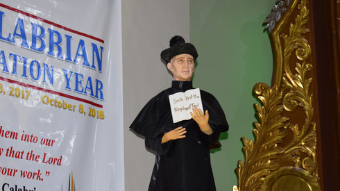 Feast Day of St. John Calabria and Inauguration of Calabrian Vocation Year