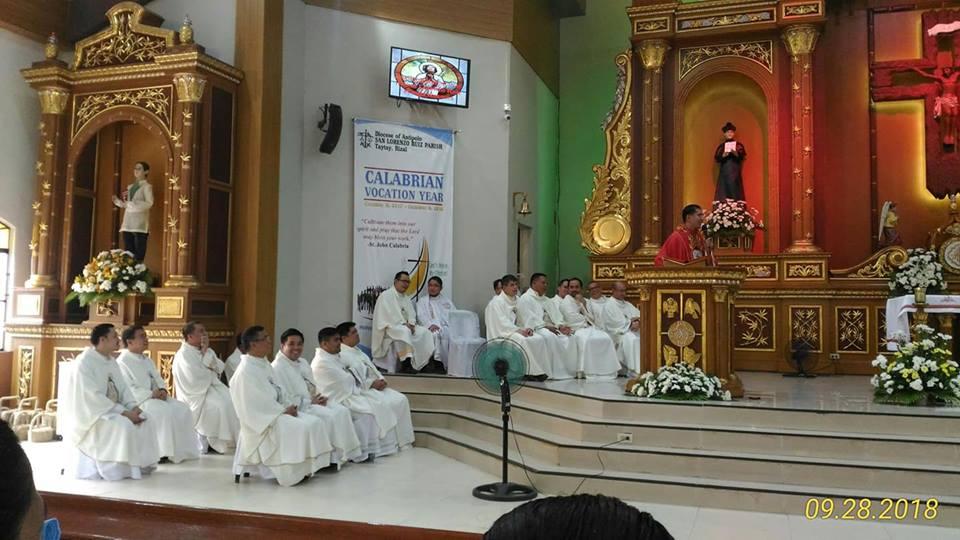 thanks giving of Fr. Eleazar