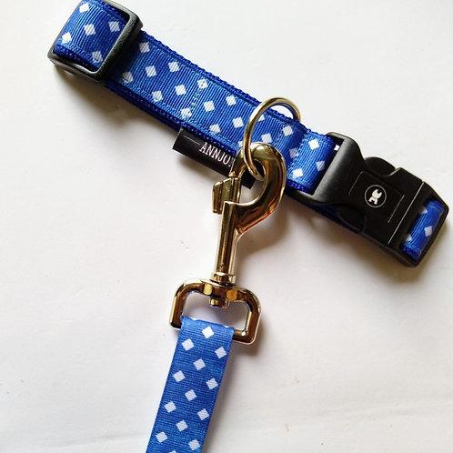 Halsband + riem hond - Faye