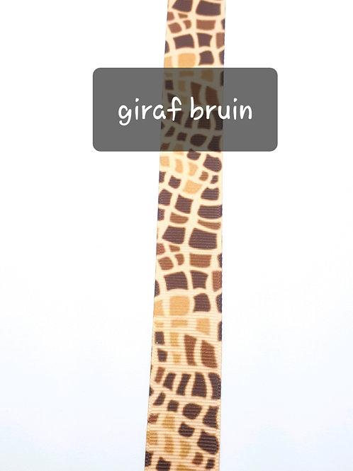 Giraffe bruin