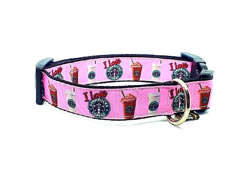 Hondenhalsband - Koffie