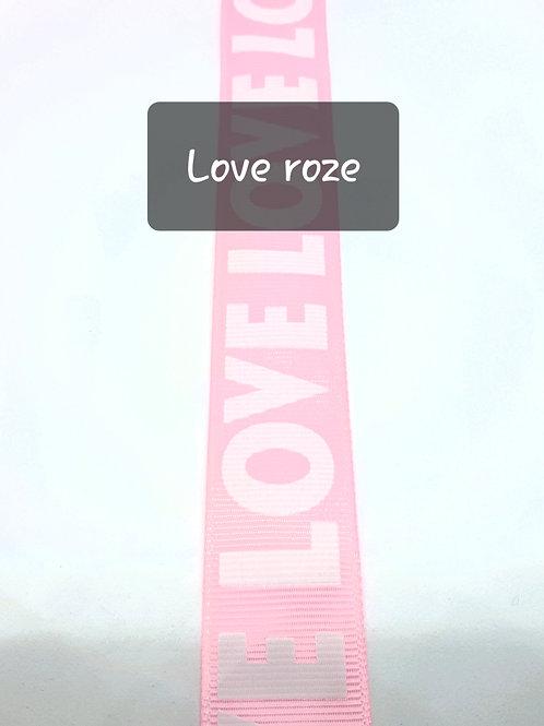 Love roze