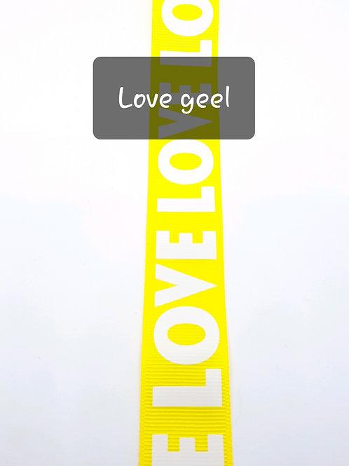 Love geel