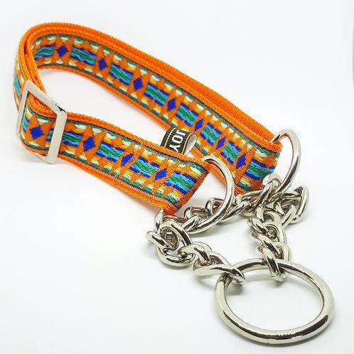 Hondenhalsband - Folklore oranje L