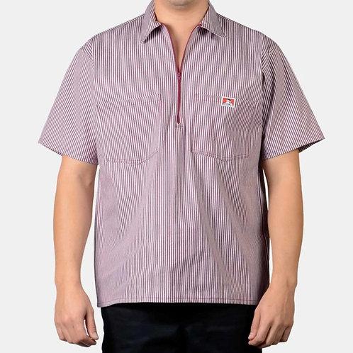 Ben Davis 1/2 Zip Short Sleeve