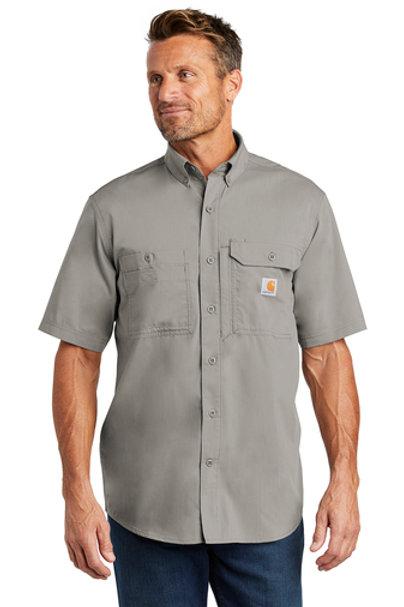Carhartt Ridgefield Shirt Asphalt Short Sleeve L