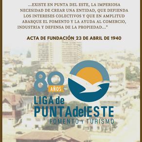 LA LIGA CUMPLE 80 AÑOS AL SERVICIO DEL TURISMO Y LA COMUNIDAD