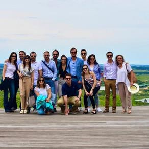 Visita de delegación de diplomáticos uruguayos.