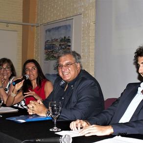 Lanzamiento del libro sobre Punta del Este, escrito por Luis Sader