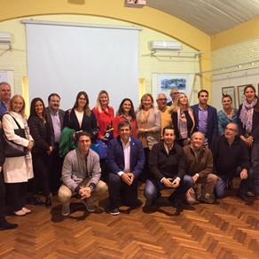 Diplomáticos uruguayos en Punta del Este
