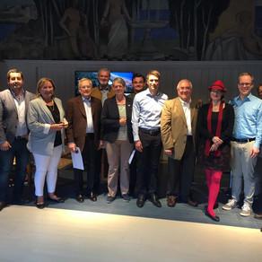 Visita de parlamentarios del Bundestag de la República Federal de Alemania.