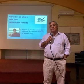 """""""Historias de Mar"""" presentadas por  Dr. Fernando Cairo"""