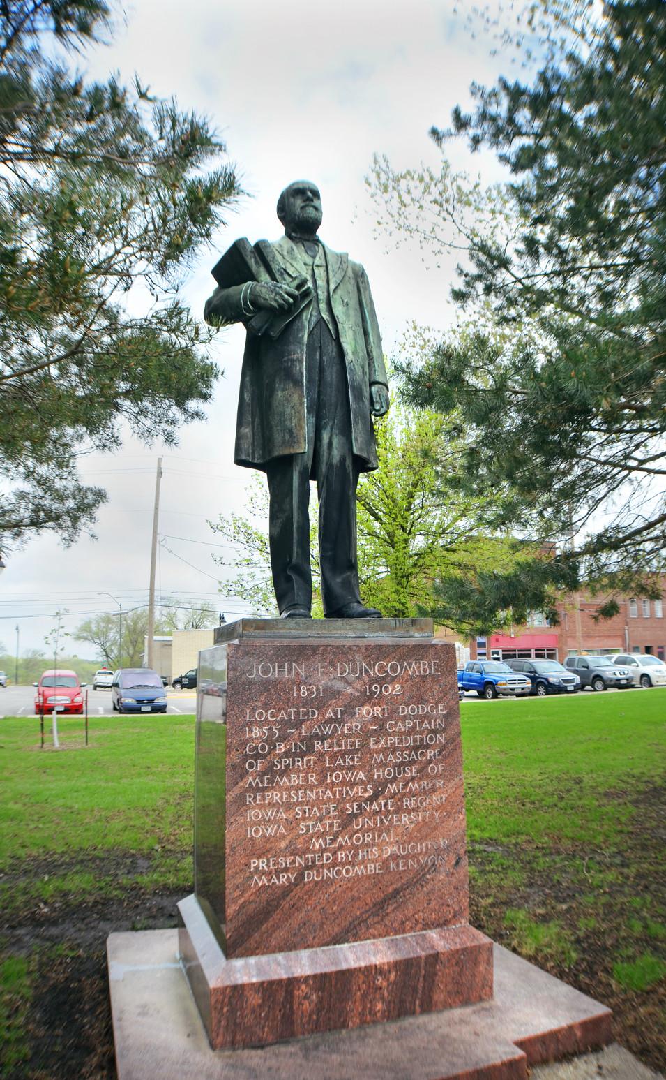 John F. Duncombe (1831-1902) Memorial