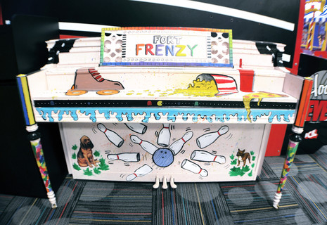Fort Frenzy Piano