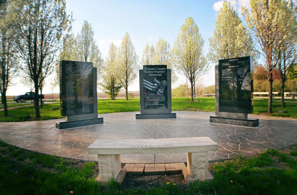 Webster County Fallen Warrior Memorial