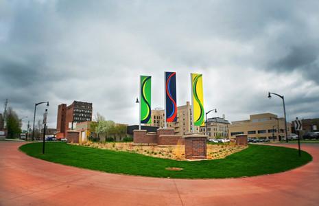 Des Moines River Banners