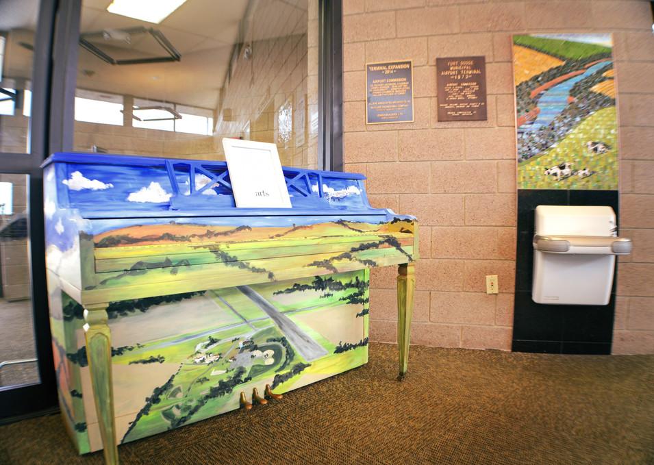 Fort Dodge Regional Airport Piano