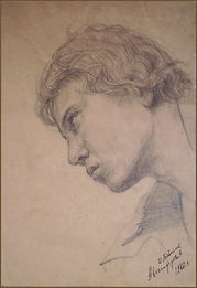 Self-Portrait at 17 years old, by Igor Babailov