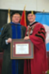 Igor V. Babailov, Honorary Doctorate - Cumberland University, 2019