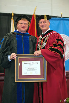 Dr. Igor V. Babailov - Honorary Doctorate from Cumberland University, Commencement 2019