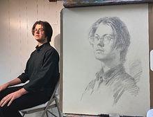 Igor Babailov Master Workshop - Portrait Drawing, Master Demo - by Igor Babailov