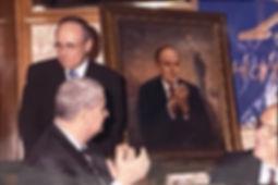 Official Portrait of Mayor Rudy Giuliani by Igor Babailov - Portrait unveiling, New York City