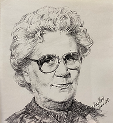Portrait of Tonya Demczina, Canada, Graphite portrait drawing from life by Igor Babailov