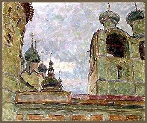 Zabelin, Monastery in Rostov (Oil).jpg