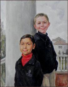 Portrait of Joseph and Samuel, by Igor Babailov