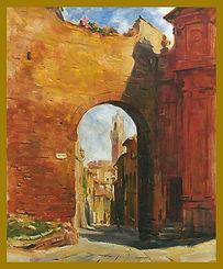 Siena Italy. En Plein Air painting by Igor Babailov