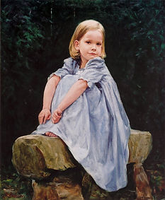 Portrait of Leah, by Igor Babailov. Private collection. Realism in Portraiture. The Seven Essentials of Portraiture.