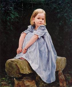 Leah (oil), by Igor Babailov