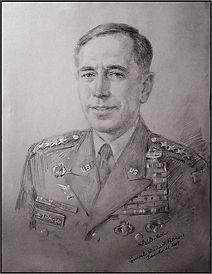 Life Portrait Sketch of General Petraeus