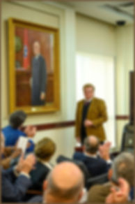 Portrait of Judge Seth Norman - Official portrait unveiling - by Igor Babailov, Nashville, TN.