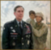 Official Portrait of General David H. Petraeus, U.S. Military Commander and CIA Director. By Igor Babailov.