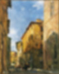 Morning in Florence, en plein air painting by Igor Babailov