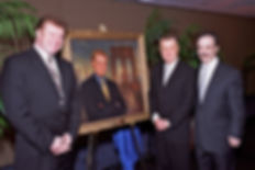 Regis Philbin portrait unveiling, in New York City. Portrait by portrait artist Igor Babailov